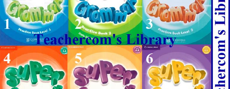 Cambridge Super Grammar Practice Books 1 to 5