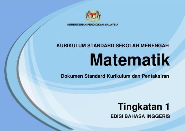 Download Dskp Bahasa Inggeris Tingkatan 1 Baik Dskp Kssm Mathematics form 1 Of Muat Turun Dskp Bahasa Inggeris Tingkatan 1 Yang Bermanfaat Khas Untuk Ibubapa Download