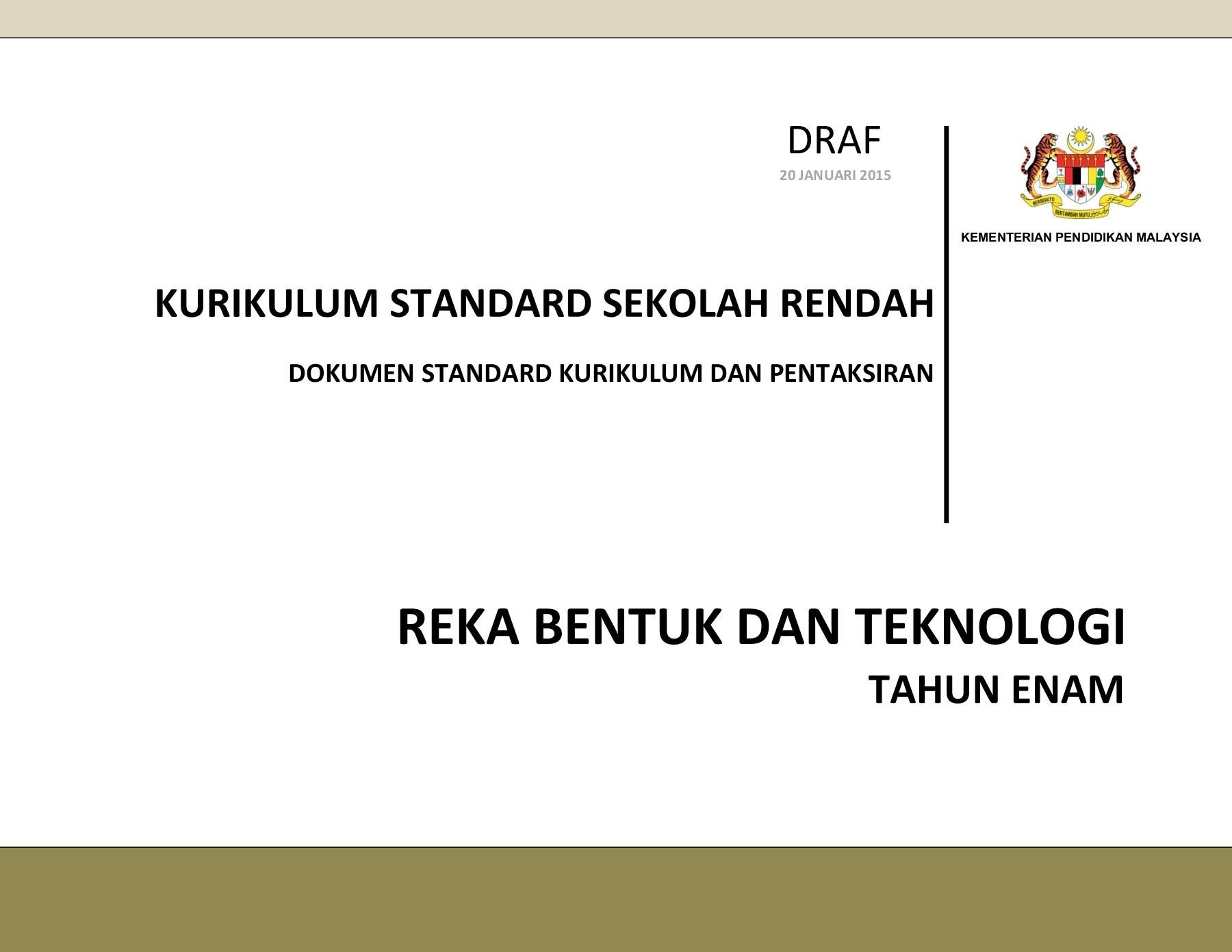 Download Dskp Bahasa Melayu Tahun 6 Berguna Dskp Kssr Reka Bentuk Teknologi Tahun 6 Pages 1 32 Text Of Dapatkan Dskp Bahasa Melayu Tahun 6 Yang Bermanfaat Khas Untuk Ibubapa Muat Turun