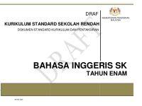 Download Dskp Bahasa Melayu Tahun 6 Menarik Dskp English Year 6 Sk