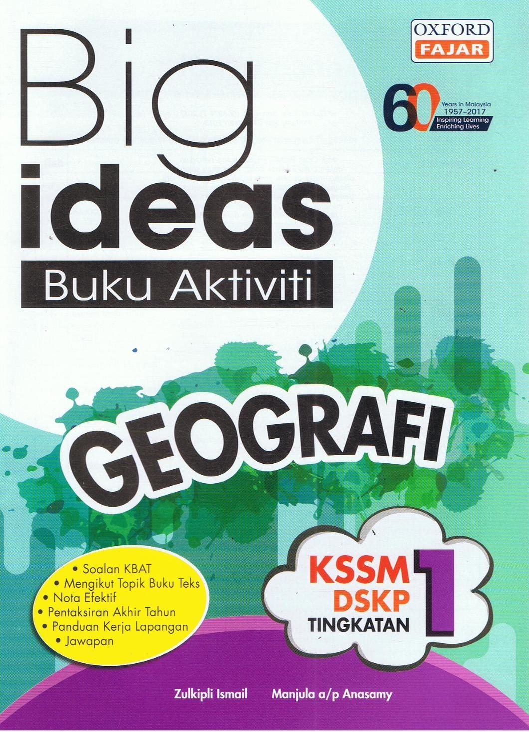 Download Dskp Geografi Tingkatan 1 Menarik Big Ideas Buku Aktiviti Geografi Tingkatan 1 Bukudbp Com Of Dapatkan Dskp Geografi Tingkatan 1 Yang Power Khas Untuk Para Guru Muat Turun