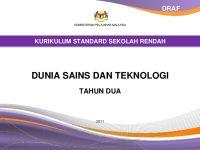 Download Dskp Pendidikan islam Tahun 2 Hebat Dokumen Standard Kssr Dunia Sains Dan Teknologi Tahun 2