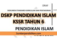 Download Dskp Pendidikan Kesihatan Tahun 6 Terbaik Dskp Pendidikan islam Tahun 6 Kssr Sumber Pendidikan
