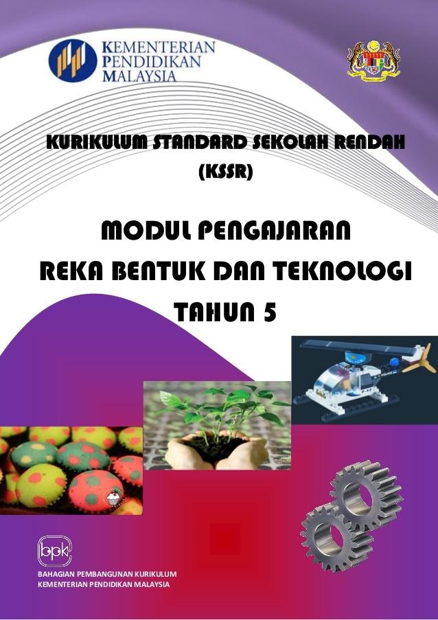 Download Dskp Reka Bentuk Teknologi Tahun 5 Berguna Modul Kssr Rbt Tahun 5