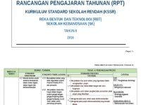 Download Dskp Reka Bentuk Teknologi Tahun 5 Terbaik Rpt Kssr Tahun 6 Reka Bentuk Dan Teknologi Rbt Docx