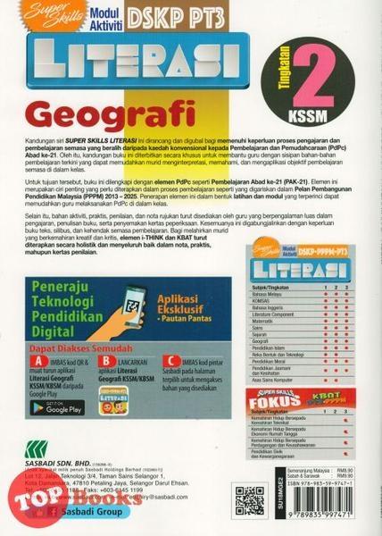 Download Dskp Tasawwur islam Tingkatan 4 Penting Sasbadi18 Super Skills Modul Aktiviti Pt3 Literasi Geografi Of Muat Turun Dskp Tasawwur islam Tingkatan 4 Yang Berguna Khas Untuk Cikgu Dapatkan