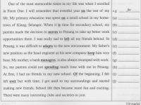 Latihan Bahasa Inggeris Pt3 Terhebat Learning English Daily Pt3 English Correcting Grammatical Errors