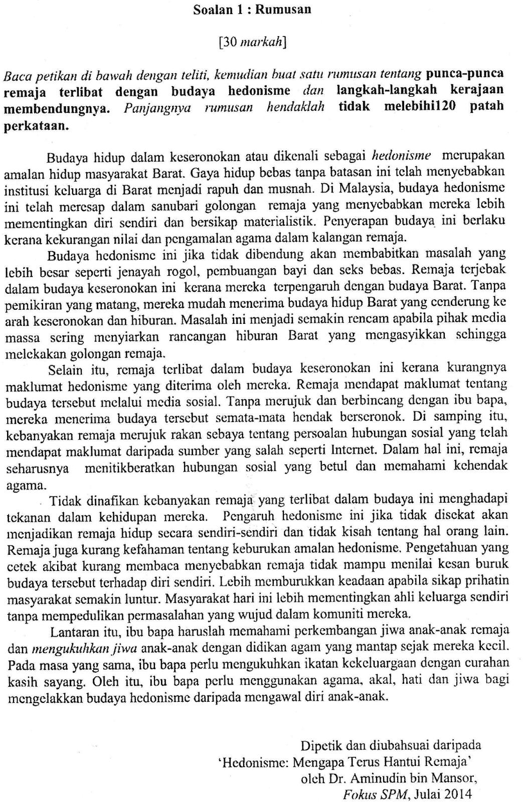 Contoh Soalan Spm Percubaan 2017 I Soalan