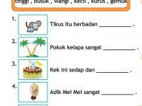 Latihan Bahasa Melayu Tahun 2 Berguna Bahasa Malaysia Tahun 1 Aktiviti Membaca Dan Menulis