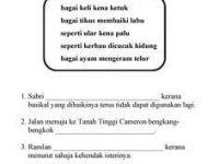 Latihan Bahasa Melayu Tahun 3 Berguna Lembaran Kerja Bahasa Melayu Tahun 2 Adib Pinterest Education
