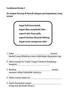 latihan bahasa malaysia tahun 1 google search study materials malaysia indonesia classroom