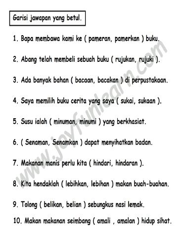 Peribahasa Bahasa Melayu Tahun 5 Cikimm Com
