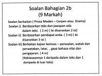 Latihan Bahasa Melayu Tingkatan 1 Hebat Laman Bahasa Melayu Spm Pemahaman Komsas Antologi Tingkatan 4 Dan 5