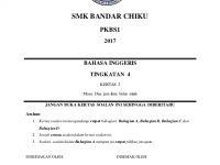 Latihan Bahasa Melayu Tingkatan 4 Terbaik English Paper 2 form 4