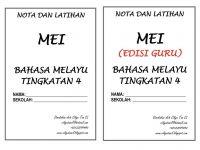 Latihan Bahasa Melayu Tingkatan 4 Terbaik Nota Dan Latihan Bahasa Melayu Tingkatan 3 Bulan Mac Shopee Malaysia