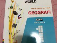 Latihan Geografi Tingkatan 2 Penting 50under Buku Latihan Geografi Tingkatan 1 Books Stationery Books