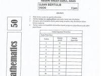 Latihan Matematik Pt3 Meletup 239767217 soalan Percubaan Pt3 Kedah Matematik 2014 by Zasapar