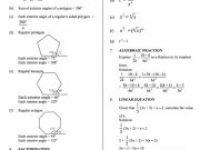 Latihan Matematik Pt3 Penting formula Matematik Pt3 Rumus Tingkatan 1 2 Tingkatan 3