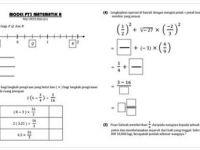 Latihan Matematik Pt3 Terhebat Modul Latihan Skor A Matematik Pt3