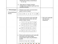 Latihan Matematik Tahun 6 Baik Modul Panduan Guru Tahun 3 Pages 251 300 Text Version Fliphtml5