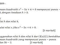 Latihan Matematik Tingkatan 5 Terbaik Add Math Dan anda January 2013