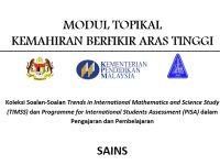 Latihan Sains Tingkatan 2 Berguna Modul topikal Kbat Sains Ting 2 My School