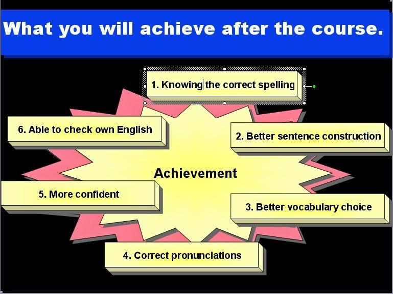jika anda tertanya tanya apakah yang dapat anda capai selepas menghadiri kursus asas asas penulisan dan perbualan bahasa inggeris saya yang akan bermula