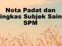Nota Bahasa Melayu Spm Yang Bermanfaat Nota Padat Dan Ringkas Subjek Sains Spm Pendidikan Terkini