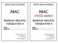 Nota Bahasa Melayu Spm Yang Terhebat Nota Dan Latihan Bahasa Melayu Tingkatan 4 Bulan Mac Shopee Malaysia