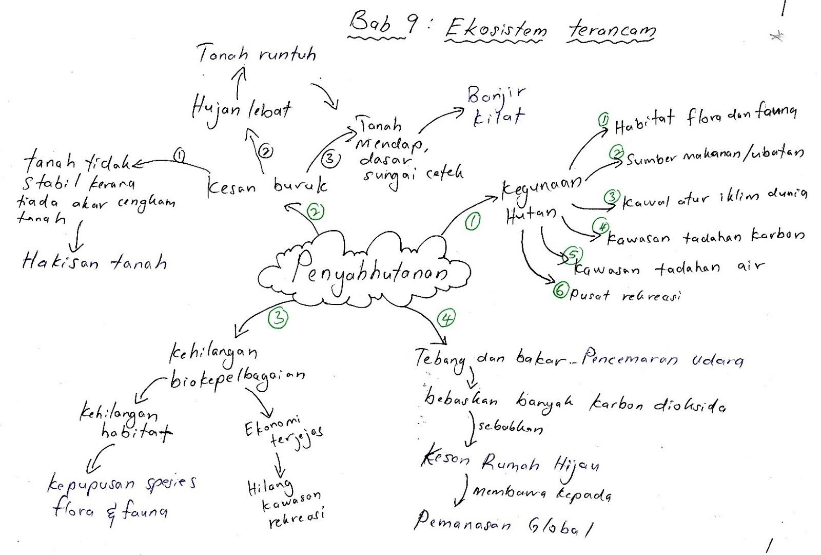 nota kreatif biologi tingkatan 4 bab 9