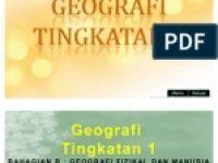 Nota Geografi Pt3 Yang Power Geografi Tingkatan 1 Bab 1 7