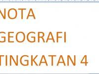 Nota Geografi Tingkatan 4 Yang Penting Nota Geografi Tingkatan 4 Amirul Hakim