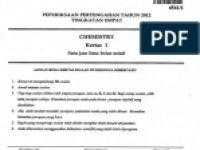 Nota Kimia Tingkatan 4 Yang Sangat Power 58804341 Nota Sains Tingkatan 5 Doc