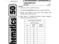 Nota Matematik Pt3 Yang Power 2014 Pt3 50 Mathematics