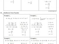 Nota Matematik Pt3 Yang Power Teorimath 6 Linear Equation Persamaan Linear
