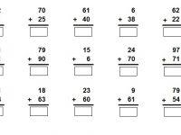 Nota Matematik Tahun 1 Yang Sangat Bernilai Addition Numbers to 100 Matematik Tahun 2