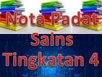 Nota Sains Tingkatan 4 Yang Menarik Nota Padat Sains Tingkatan 4 Gurubesar My