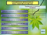 Nota Sejarah Tingkatan 1 Yang Berguna Sejarah Tingkatan 1 Bab 4 Pengasasan Kesultanan Melaka