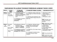Rpt Pendidikan Kesihatan Tahun 4 Bernilai Sk Rpt Pen Jasmani Tahun 4 2017
