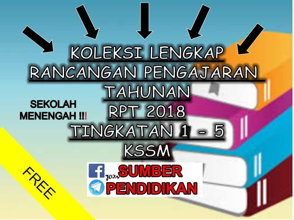 Rpt Sains Tingkatan 5 Berguna Koleksi Rpt Kssm Tingkatan 5 2018 Sumber Pendidikan