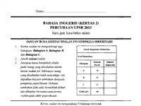 Soalan Pentaksiran Awal Tahun Bahasa Inggeris Tahun 2 Terbaik soalan Percubaan Bahasa Inggeris Kertas2 Terengganu 2013