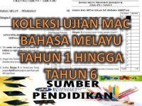 Soalan Pentaksiran Awal Tahun Bahasa Melayu Tahun 3 Berguna Koleksi Ujian Mac Oti 1 Bahasa Melayu Tahun 1 Hingga Tahun 6
