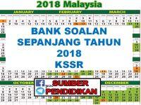 Soalan Pentaksiran Awal Tahun Bahasa Melayu Tahun 3 Penting Koleksi Bank soalan Sepanjang Tahun 2018 Kssr Sumber Pendidikan