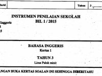 Soalan Pentaksiran Pertengahan Tahun Bahasa Melayu Tahun 2 Bermanfaat Peperiksaan Pertengahan Tahun Semua Subjek 2017 Tahun 3 My School
