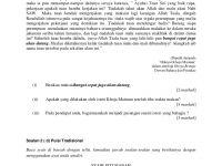 Soalan Peperiksaan Akhir Tahun Bahasa Melayu Tahun 5 Baik Peperiksaan Akhir Tahun Bahasa Melayu Kertas 2 Tingkatan 4 Smk Sul