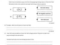 Soalan Peperiksaan Awal Tahun Pendidikan islam Tingkatan 1 Hebat soalan Pendidikan islam Tingkatan 1