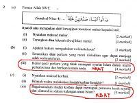 Soalan Peperiksaan Awal Tahun Pendidikan islam Tingkatan 1 Meletup Kalam Diri Cara Menjawab soalan K B A T
