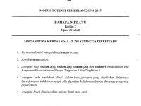 Soalan Peperiksaan Pertengahan Tahun Kesusasteraan Melayu Tingkatan 5 Baik Laman Bahasa Melayu Spm Simulasi Peperiksaan Kedua Pecutan Akhir
