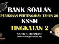 Soalan Peperiksaan Pertengahan Tahun Kesusasteraan Melayu Tingkatan 5 Bernilai Bank soalan Peperiksaan Pertengahan Tahun 2018 Kssm Tingkatan 2