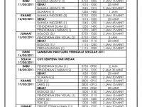 Soalan Peperiksaan Pertengahan Tahun Kesusasteraan Melayu Tingkatan 5 Terbaik Jadual Peperiksaan Pertengahan Tahun 2011